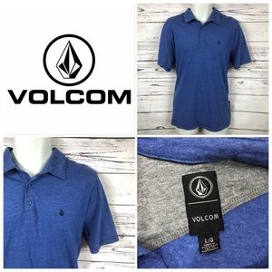 VOLCOM Mens Polo Shirt